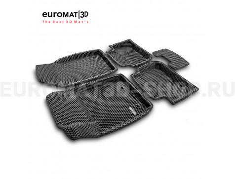 3D коврики Euromat3D EVA в салон для Ford Fiesta (2010-) № EM3DEVA-002213